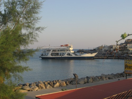 Samaria ferry paleochora