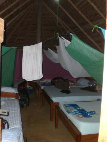 Hutje slapen Suriname