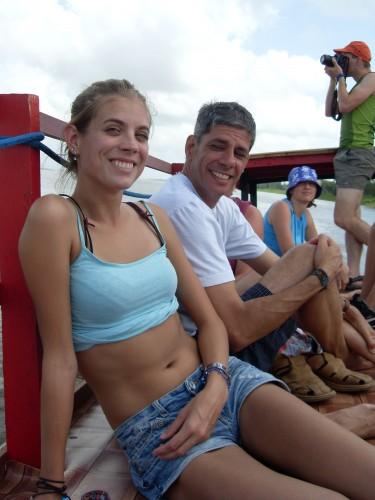 Ik papa bootje Suriname