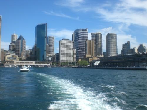 En waar de Sydney Ferry vandaag kwam