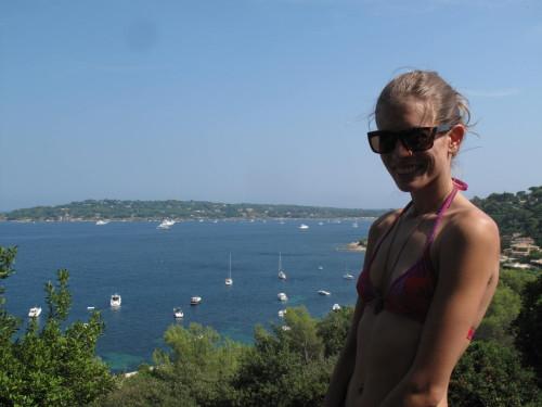 Klimmen in St. Tropez