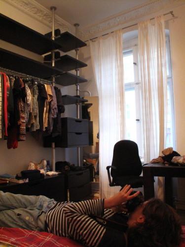 Het paleis appartement waar we via Airbnb.com in terecht waren gekomen.