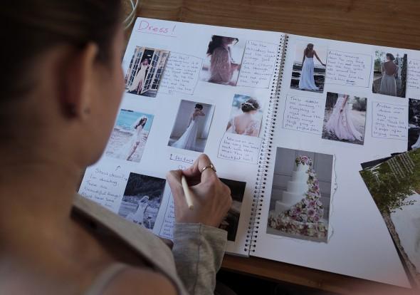 Patrick project Sarah trouwboek