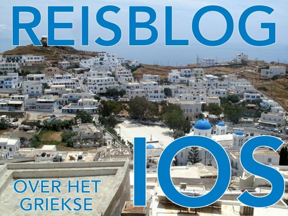 Reisblog Griekenland Ios eiland