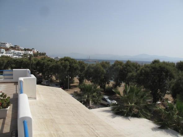 Griekenland Paros Hotel uitzicht