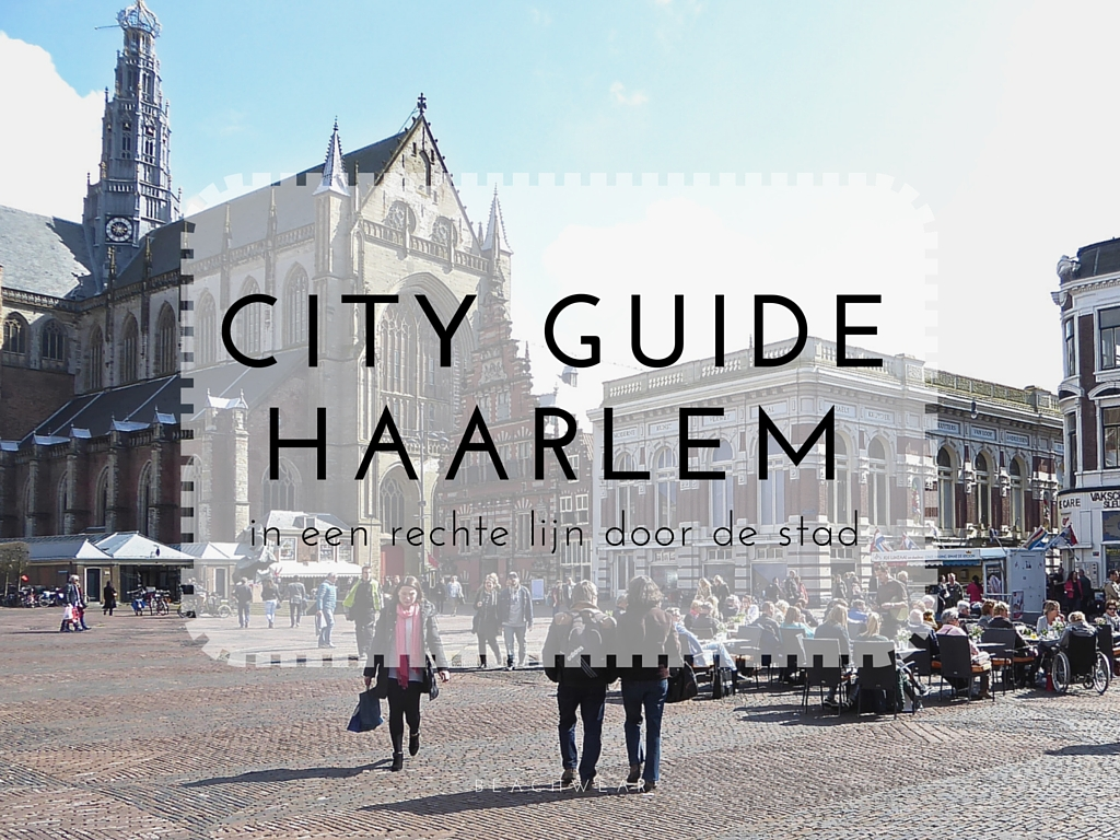 City guide Haarlem