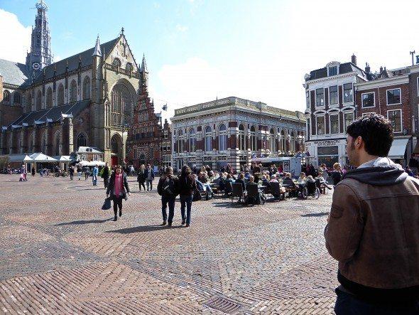 Grote Markt plein Haarlem