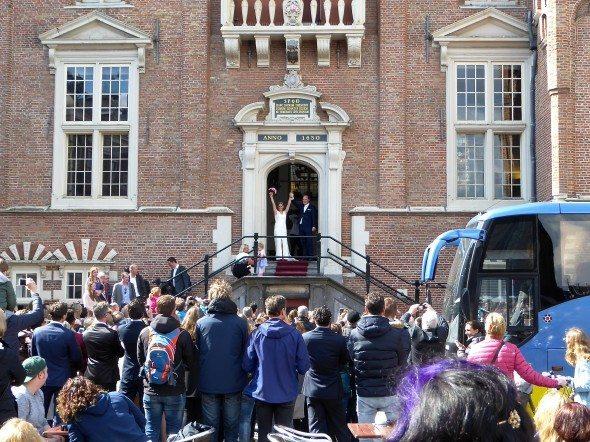 Bruiloft stadshuis Haarlem