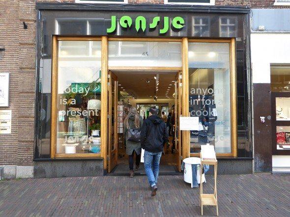 Jansje winkel Haarlem