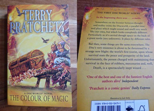 Terry Pratchett, de kleur van toverij