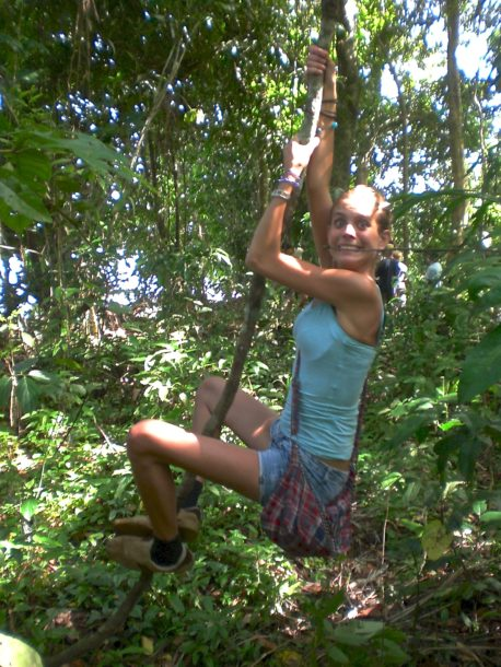 Lianen zwaaien Suriname