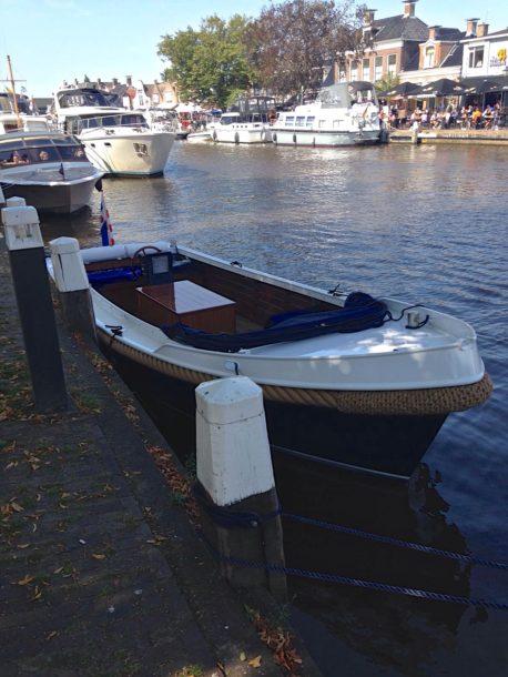 Lemmer boot aanleggen