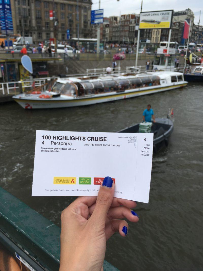 Amsterdam rondvaartboot