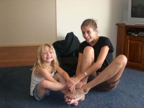Toen ik en nichtje Chloe vriendinnen waren geworden