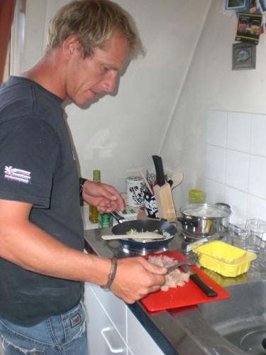 Shane kookt Waldeck Pyrmontlaan