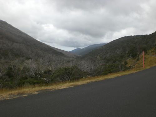 De bergweg naar Canberra