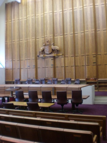 High Court in Canberra