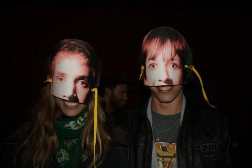 Het engste feestje ooit werd op Bowe's werkplek georganiseerd. Foto door Liesje.