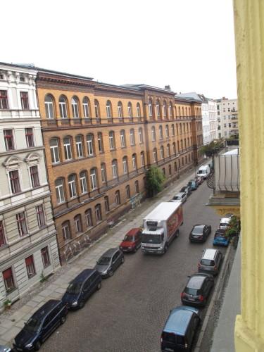 Uitzicht appartement, vlakbij Bowe's.