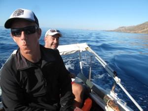 Boot tocht Kreta