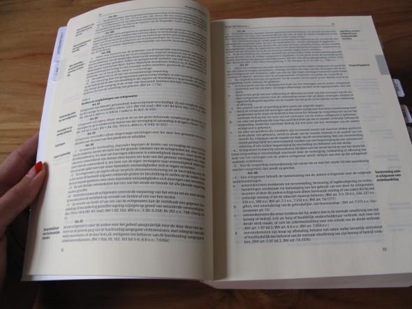 Zo ziet die wetsbundel er van binnen uit.