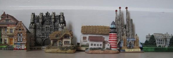 Huizen beeldjes