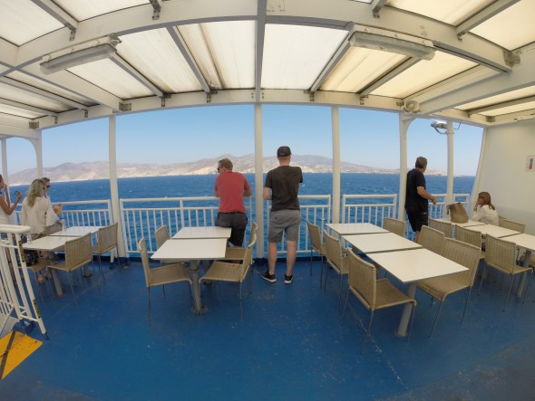 Griekse eilanden ferry Ios