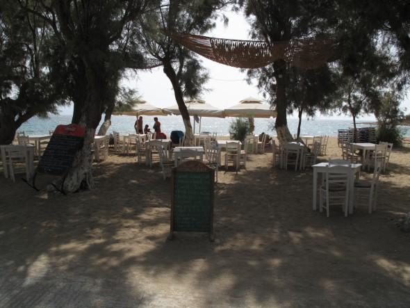 Grieks eiland Paros, Logaras