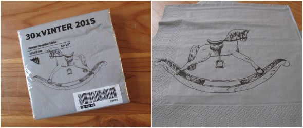 Ikea Vinter servetjes