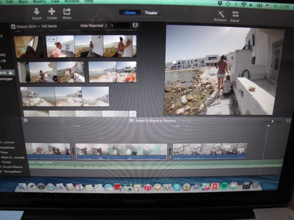 iMovie filmpje maken