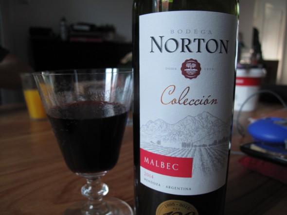 Rode wijn Norton Malbec