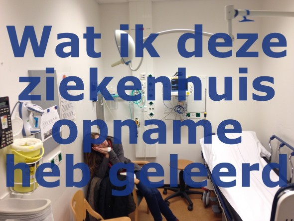 Ziekenhuisopname