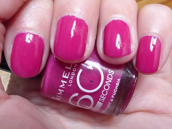 Roze Rimmel Maybeline nagellak