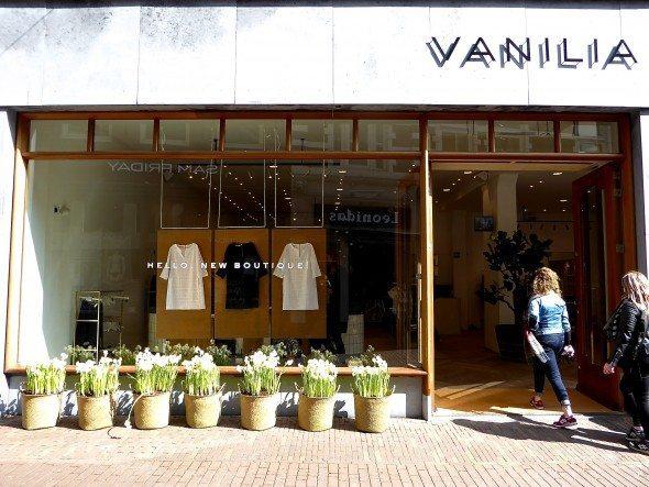 Vanilia winkel Haarlem