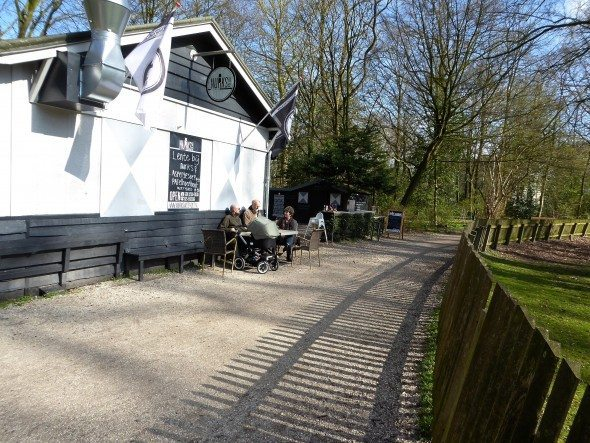 Nurks in de Hout cafe Haarlem