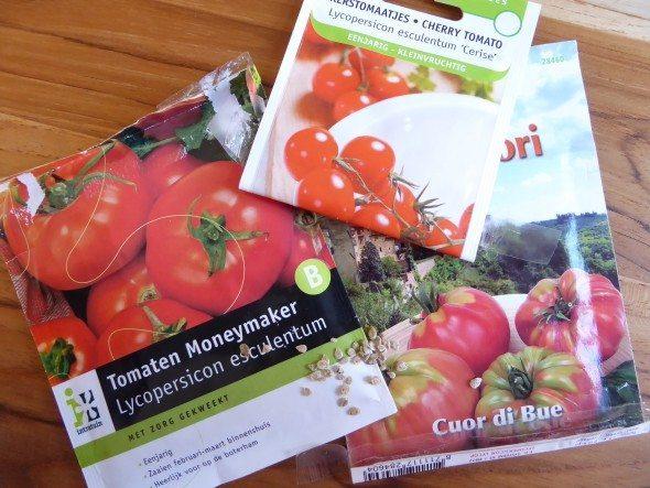 Tomatenzaadjes planten
