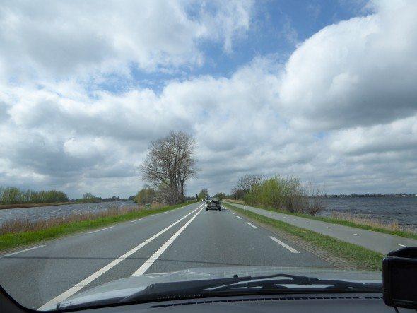 Rijden naar Vinkeveen