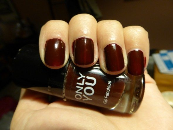 Only You donkerrode nagellak