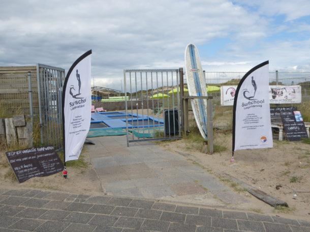 Noordwijk aan Zee surfen