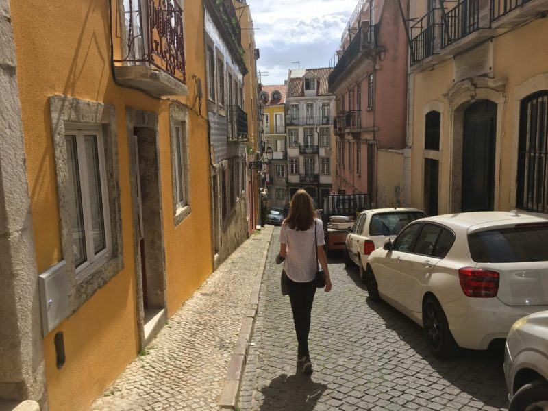 Lissabon heuvels
