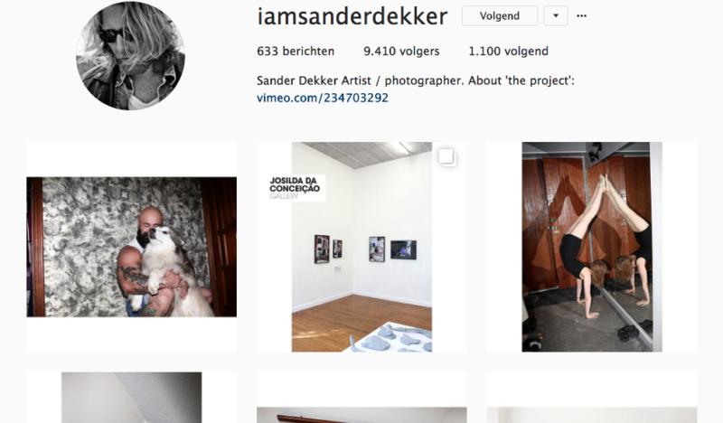 Sander Dekker fotograaf
