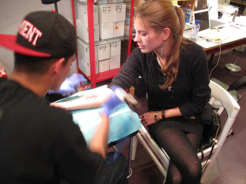 Reality Hollywood Mark tattoo Elandsgracht