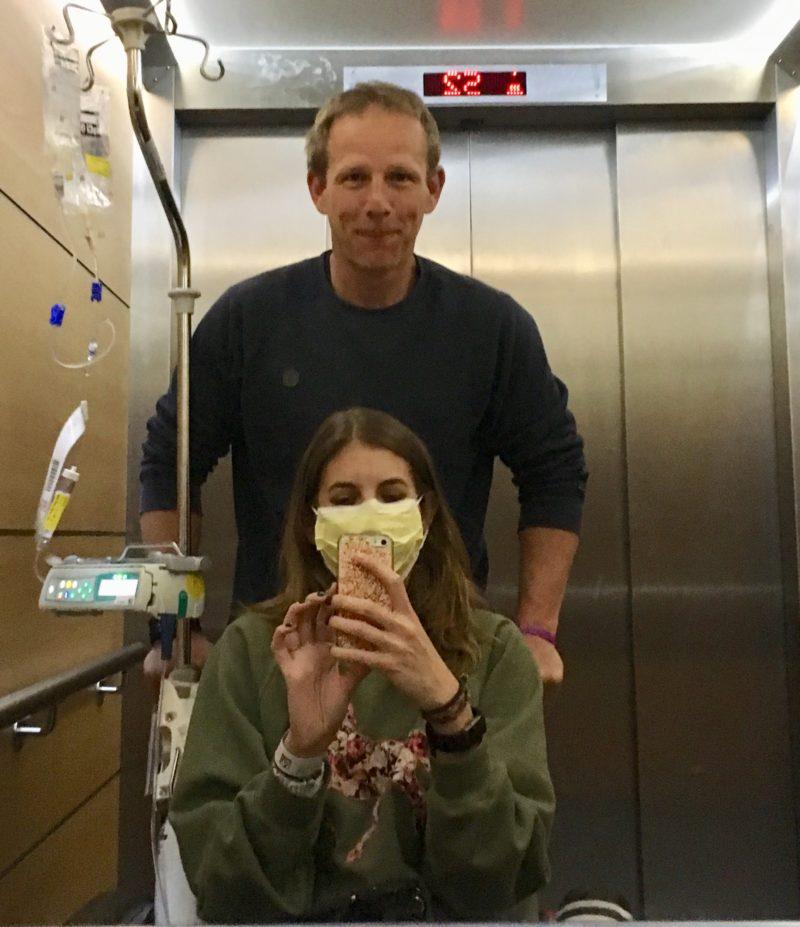 Shane ik ziekenhuis lift