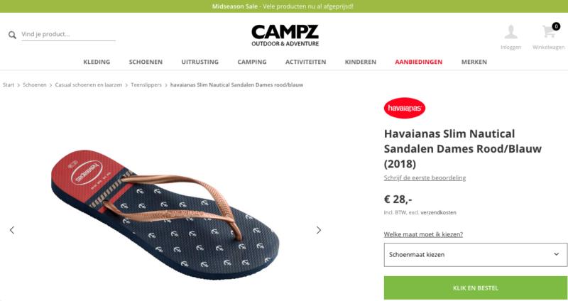 Korting campz.nl