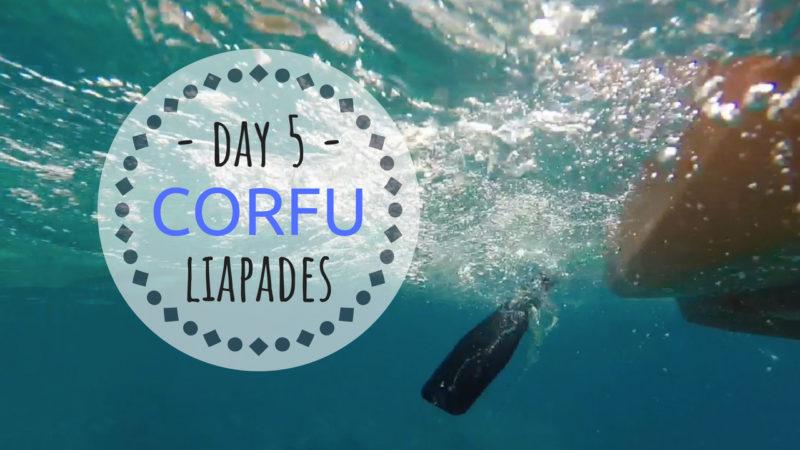 CORFU Korfoe Liapades strand
