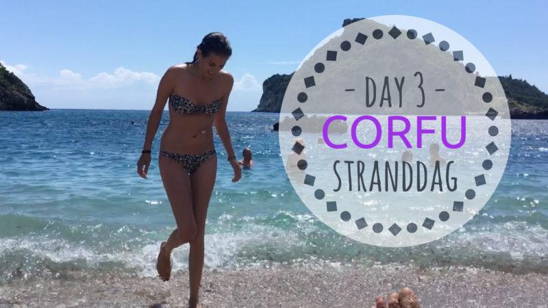 CORFU dag 3 stranddag Korfoe strand