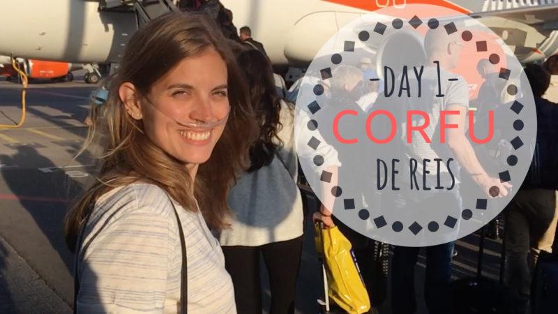 CORFU korfoe vlog dag 1