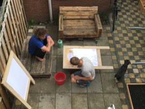 Tuin blog Haarlem begin