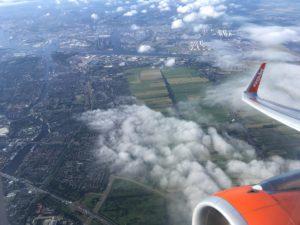 Vliegen naar Korfoe