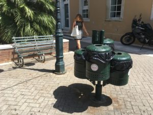 Prullenbakken Corfu City